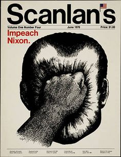 Anti-war and protest posters: Scanlan's: Impeach Nixon (circa 1970) | Flickr - Photo Sharing!