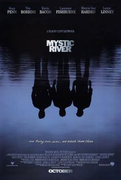 Mystic River movie poster designed by Bill Gold