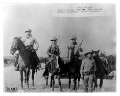 The Illustrious Texas Rangers - Charlie Price John Caraway Charlie Blackwell Will Erskin - Late Old Pictures, Old Photos, Vintage Photos, Texas Rangers Law Enforcement, Old West Outlaws, University Of North Texas, Texas History, Family History, Fort Worth Texas