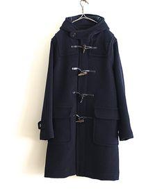 INVERTERE ダッフルコート(NAVY) http://floraison.shop-pro.jp/?pid=83029201