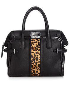 GUESS Handbag, Tasya Box Satchel - Handbags & Accessories - Macy's