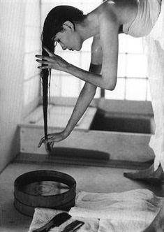Japanes Bath, 1954 - Louise Dahl-Wolfe