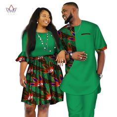 Image of African Men and Women Ankara print couple dress, african clothes for boyfriend,girlfriend wedding Dress and men suit o-neck men two piece set dashiki short sleeve cloth plus Couples African Outfits, African Dresses Men, African Blouses, African Attire For Men, African Clothing For Men, African Shirts, Latest African Fashion Dresses, African Print Fashion, Africa Fashion
