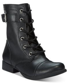 American Rag Faylln Combat Booties, Only at Macy's