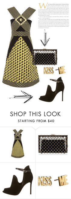 """Sonic boom !"" by invisible9988 ❤ liked on Polyvore featuring Holly Fulton, Charlotte Olympia, Gianvito Rossi, Kate Spade, polyvoreeditorial, PolyvoreWishlist, justlivedesign and yoinscollectio"