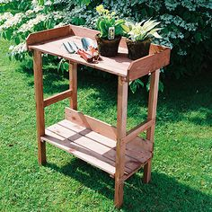 Traditional Potting Bench By Smith Hawken Smith Hawken