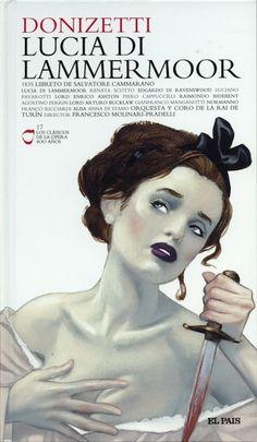 Lucia Di Lammermoor | Opera Cover by Fernando Vicente, via Behance