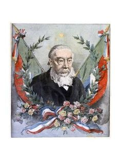 Giclee Print: Paul Kruger, South African Politician, C1900 : 24x18in