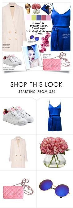 """""""Untitled #591"""" by zalarupar ❤ liked on Polyvore featuring adidas Originals, The Row and Chanel"""
