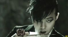 """G-Dragon (지드래곤) in the M/V """"She's Gone""""."""