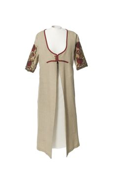 1907 - Poiret. Silk, metallic.
