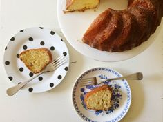 I love Suze's fool-proof lemon bundt cake, which you can easily make at the last minute.