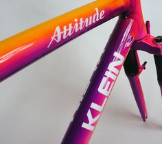 Klein Attitude from 1993 in the colour moonrise, my favorite!