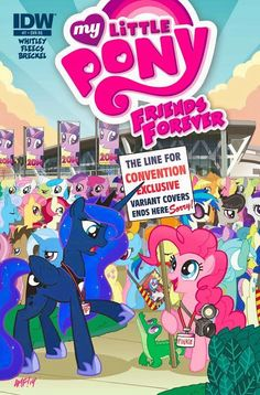 My Little Pony Friends Forever #14 2015 NM Stock Image