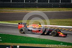 Red Bull Racing-TAG Heuer RB12 during Friday free practice session of the 2016 Formula One Italian Grand Prix at the Autodromo Nazionale Monza.