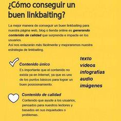 Linkbaiting 💡@infok2 #infok2 . . #marketingdigital #marketing #mercadeo #marketingonline #publicidad #emprendimiento #estrategiadigital #contentmarketing #ecommerce #redessociales #seo Marketing Digital, Blog, Texts, Accenture Digital, Advertising, Social Networks, Blogging