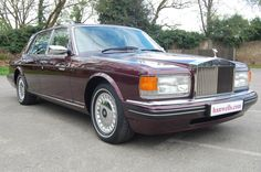 1996 N Rolls Royce Silver Spur MK IV. Finished in Wildberry with Cream coach lines and Cotswold interior piped in Mulberry, with Mulberry carpets. Supplied by ourselves 12 years ago. Only 3 owners in total with just 47,000 miles. Absolutely stunning condition throughout. This car must be seen £26.750 Full Details: http://hanwells.net/rolls-royce-select/rolls-royce-silver-spur/1996-n-rolls-royce-silver-spur-mk-iv-in-wildberry-26-750