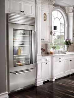 General Splendour : Ugly Refrigerator Makeover!  With WALLPAPER??