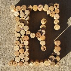 cork monograms...multiple uses!