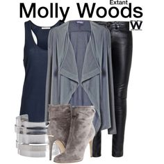 Inspired by Halle Berry as Molly Woods on Extant.