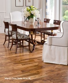 Mardi Gras Hardwood Flooring