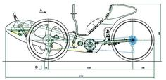 The world of stationary bikes and exercise equipment in general is on the verge of major revolution. Recumbent Bicycle, Recumbent Bike Workout, Wood Bike, Electric Tricycle, Exercise Bike Reviews, Metal Art Projects, Reverse Trike, Trike Motorcycle, Tank Design