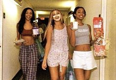 Black Girl Magic, Black Girls, Black Women, Bff Goals, Best Friend Goals, Squad Goals, 2000s Fashion, Fashion Outfits, Besties
