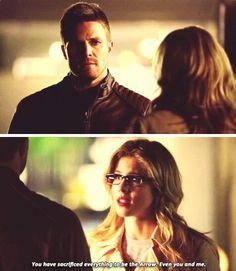 Arrow - Oliver & Felicity #3x19 #Season3 #Olicity