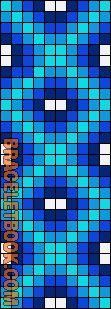 Alpha Friendship Bracelet Pattern #8020 - BraceletBook.com