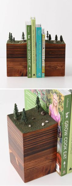 Bookends of the Earth by Garth Borovicka (gave me an idea)
