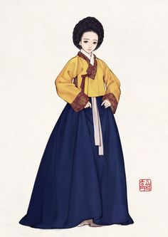By흑요석/17세기 한복