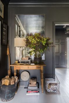 To be honest, farmhouses get us EVERY time. This sophisticated grey version is such an interesting and elegant change from the all-white versions we have been s