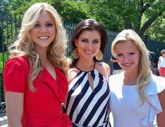 Miss America 2012 Laura Kaeppeler traveled to Washington, D.C. where she participated in the National Memorial Day Parade. Following the event, she celebrated this special day with Miss America 2008 Kirsten Haglund and Miss America's Outstanding Teen 2012 Elizabeth Fechtel.