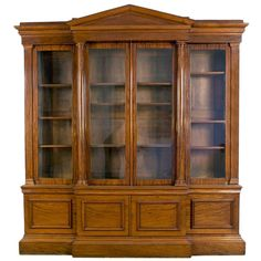Shop bookcases and other antique and modern storage pieces from the world's best furniture dealers. Vintage Bookcase, Modern Bookcase, Bed Furniture, Antique Furniture, Furniture Storage, Office Shelf, Luxury Office, Ceiling Design, China Cabinet