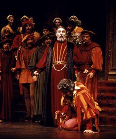 974297ca529b Archie Drake (Monterone) and Richard J. Clark (Rigoletto) in Verdi s .