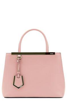 822b863a621c Fendi  Petite 2Jours  Leather Shopper