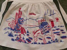 Vintage Arizona Souvenir Apron