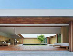 The Cloister Minimalist Japanese House Design by Tezuka Architects