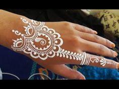 ᴴᴰ White Henna Simple Henna Designs, White Henna, Henna Art, Make It Yourself, Tattoos, Simple, Smoking, Henna Art Designs, Tatuajes