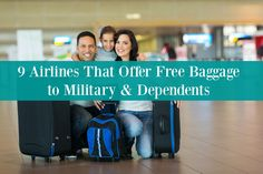 Oct 23, · The below airlines offer military discounts, waived change or cancellation fees, plus other benefits such as baggage allowances, special rates, and fares. Please read below for more detail. Alaska Airlines. Offers up to 5 bags free for active duty military personnel with ID and up to 5 bags free for military dependents with ID on travel orders.