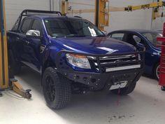 2011 - Up Ford Ranger T6 Standard Front Rancher Bumper
