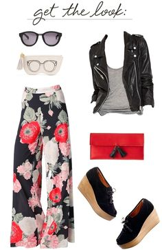 Floral pants | http://cocokelley.blogspot.com/2012/03/get-look-geared-up-for-spring.html