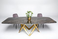Metal Table Legs, Metal Base Dining Table, Luxury Dining Tables, Pedestal Dining Table, Design Moderne, Unique Colors, Modern Design, Flooring, Wood