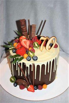 drip torty - Hľadať Googlom Birthday Images, Birthday Cake, Cakes, Food, Cake Ideas, Dessert Ideas, Birthday Cakes, Meal, Cake