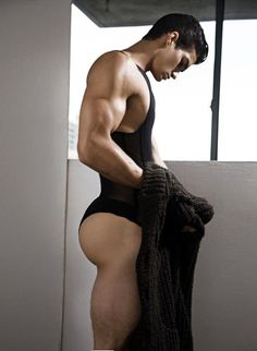 Wow! Beauty! Sexy! Hot! Manly! Love this young man's body & the gear as well!!