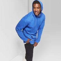 e1d95a182 Men's Tall Long Sleeve Terry Hooded Sweatshirt - Original Use Lapis Blue MT