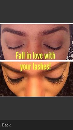 Lash time! Look at the amazing transformation in this picture. You have to try it, I'm sure you'll ❤️ it❗✔️ out YouNique 3D mascara. Have a fabulash day❗️   www.3dlashesbyletisha.net