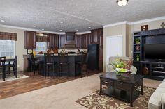 Mountaineer • 34MTN28523AH • 1369 sq.ft • 3 Beds • 2 Baths • $63,000 - $87,000 #dream #kitchen