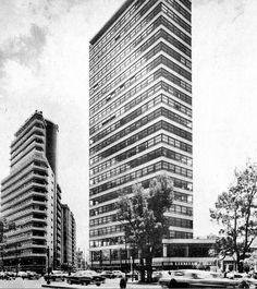 Reforma 51 Arq Sordo Magdaleno 1951 Edificio Anahuac Hoy remodelado y renombrado Torre Amigo