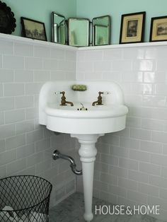 Suzanne Dimma's Powder Room | House & Home